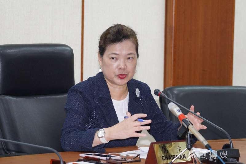 20200920-經濟部長王美花20日說明參與美國代表團經濟會談情形。(盧逸峰攝)