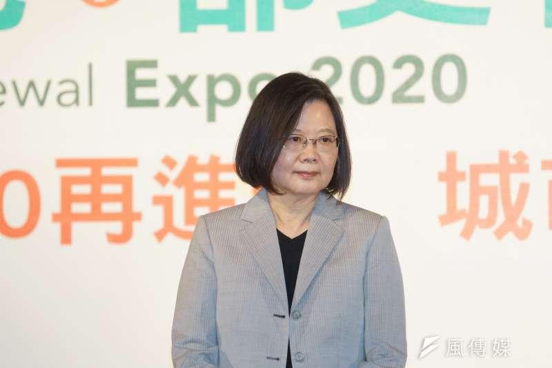總統蔡英文在受訪時表示,目前沒規劃要與日本首相菅義偉通電話,但是台日雙方隨時都保持合作關係。(盧逸峰攝)