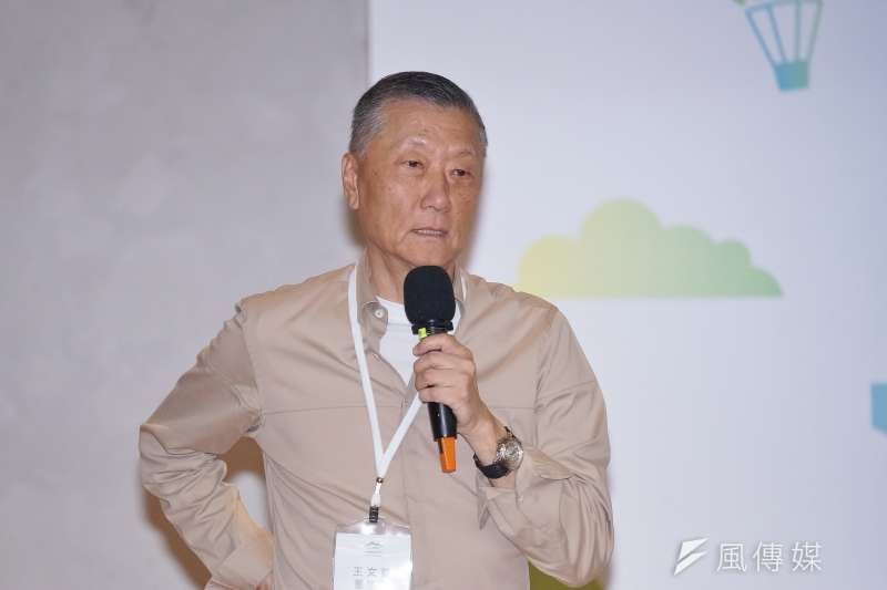 台灣鐵道觀光協會22日舉行會員大會暨專題演講,雄獅董事長王文傑受邀出席。(盧逸峰攝)