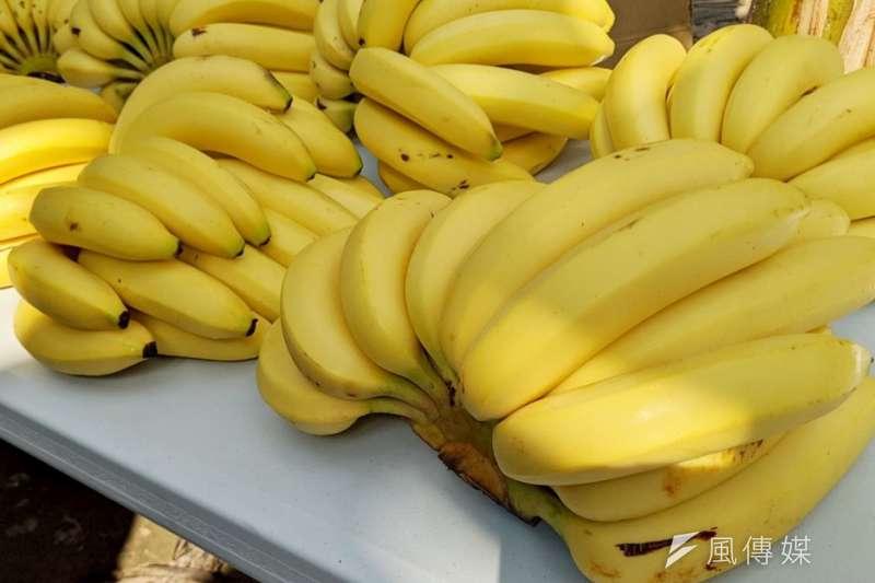 市府積極輔導蕉農產銷,企業團購湧入90,000公斤。(圖/徐炳文攝)