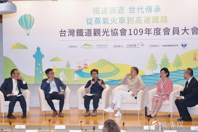 交通部將2022年訂為鐵道觀光旅遊年,台灣鐵道觀光協會22日也邀請專家學者針對相關議題進行座談。(盧逸峰攝)