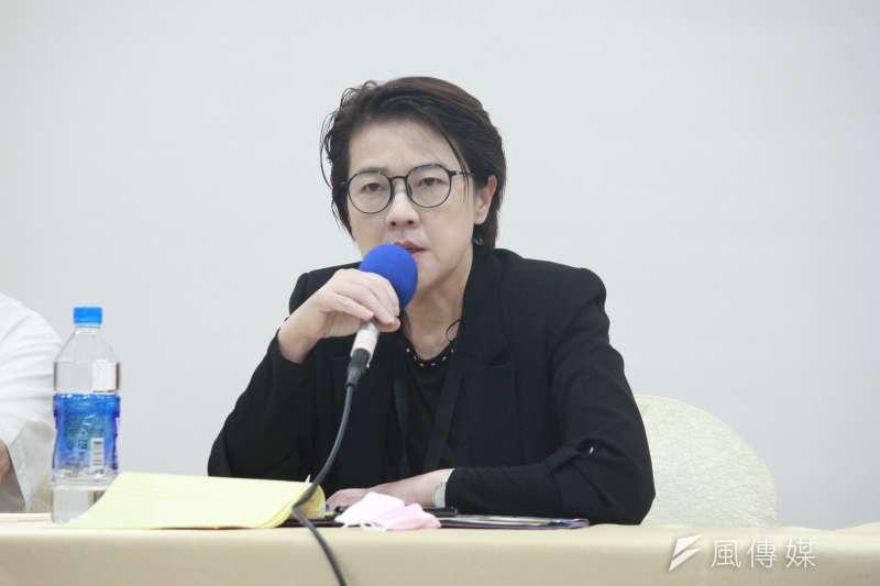 台北市副市長黃珊珊3日於臉書發文批評,中央官員只要提到萊豬就會成為萊豬代言人。(資料照,方炳超攝)