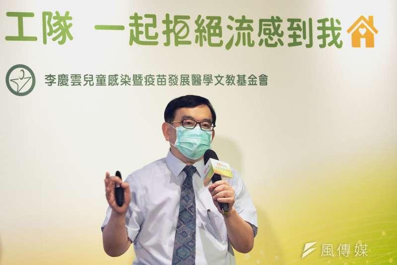 台大醫院兒童感染科主治醫師黃立民認為台灣勢必面臨第二波疫情高峰,且有爆發院內感染可能性,呼籲應嚴加戒備。(資料照,林瑞慶攝)