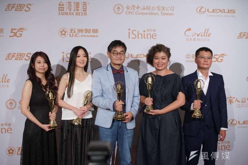 20200926-金鐘獎頒獎典禮26日舉行,俗女養成記獲得許多獎項。(盧逸峰攝)