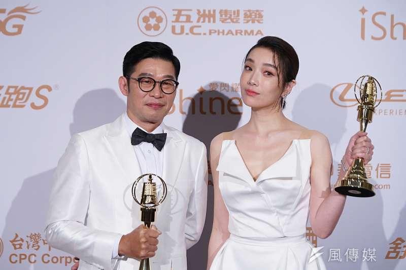 20200926-金鐘獎於26日舉行,馬力歐獲最佳男配角、蔡淑臻獲最佳女配角。(盧逸峰攝)