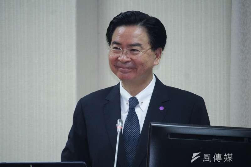 外交部長吳釗燮。(資料照,蔡親傑攝)