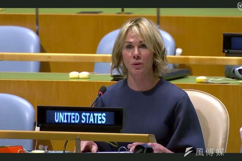 美國駐聯合國大使克拉夫特(AP)
