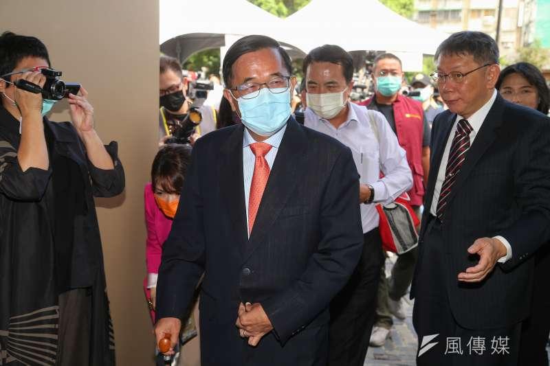 前總統陳水扁、在臉書懷念去世的前新光副院長黃芳彥。(資料照片,顏麟宇攝)