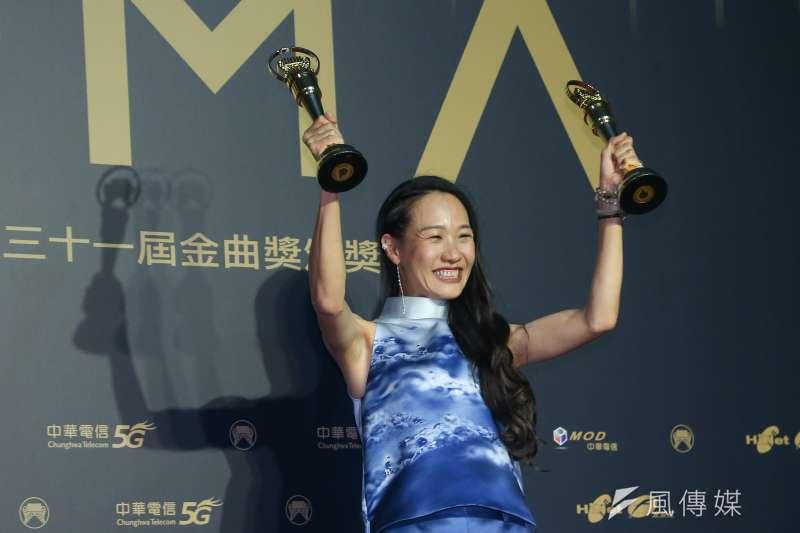 202001003-第31屆金曲獎,最佳客語歌手獎、最佳客語專輯獎米莎。(顏麟宇攝)