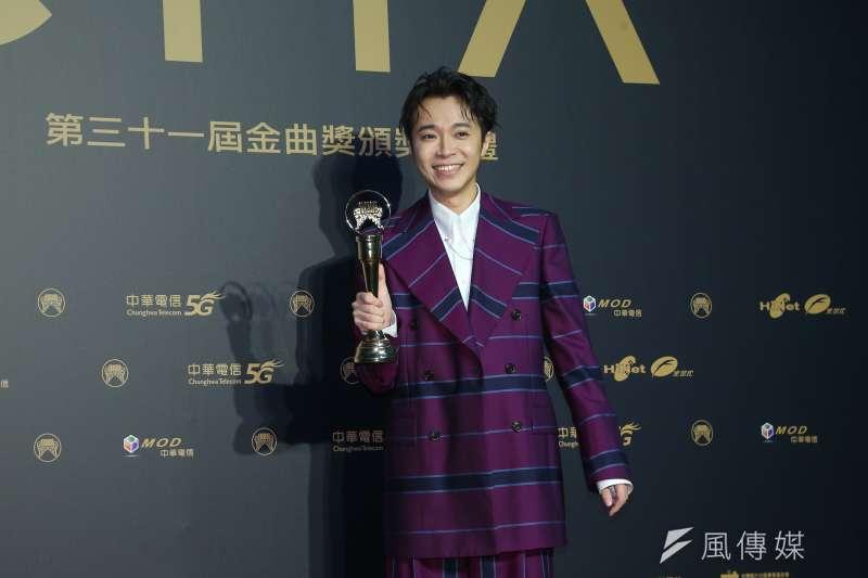 202001003-第31屆金曲獎,最佳國語男歌手獎吳青峰。(顏麟宇攝)