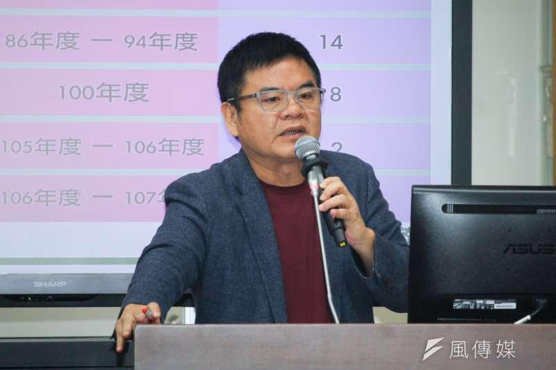 20201005-立委莊瑞雄出席立院財政委員會質詢。(蔡親傑攝)