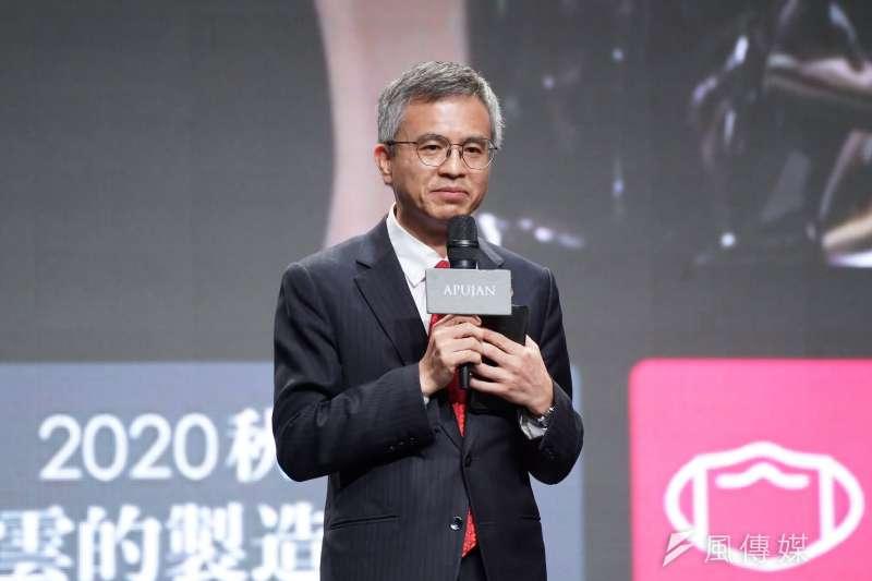 20201005-中華電信總經理郭水義5日出席APUJAN X 中華電MOD媒體發布會。(盧逸峰攝)