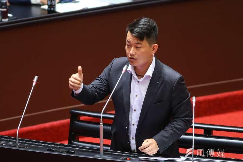 台灣基進立委陳柏惟日前一席「罪犯是每個人的責任」言論,引發討論。(資料照,顏麟宇攝)