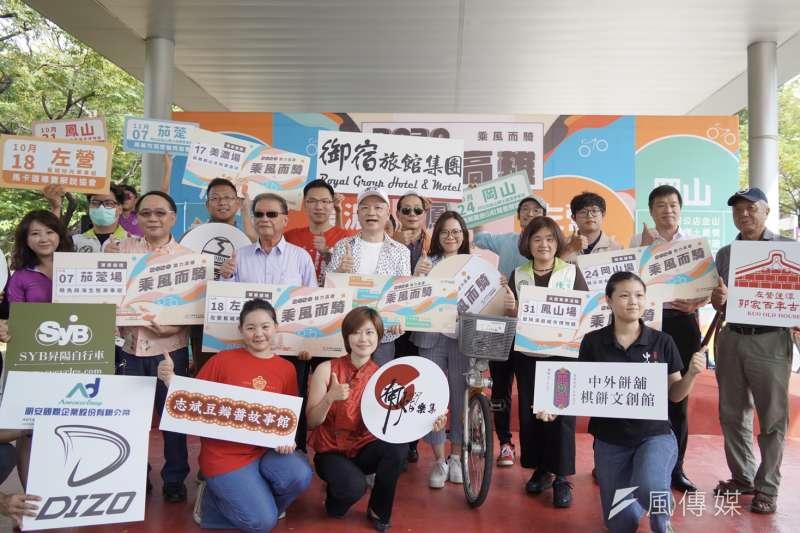 高雄10月將舉辦一系列單車遊程,活動將結合在地人文風情、歷史文化、在地美食等,一起騎單車旅遊高雄。(圖/徐炳文攝)