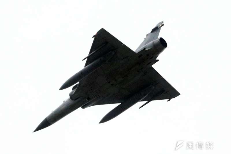 20201006-擔任「天觀機」的幻象2000戰機。(蘇仲泓攝)