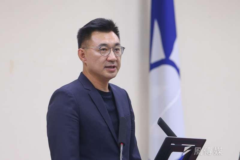 國民黨主席江啟臣7日說,為喚醒民眾對光復節的重視,已著手規劃相關系列活動。(顏麟宇攝)