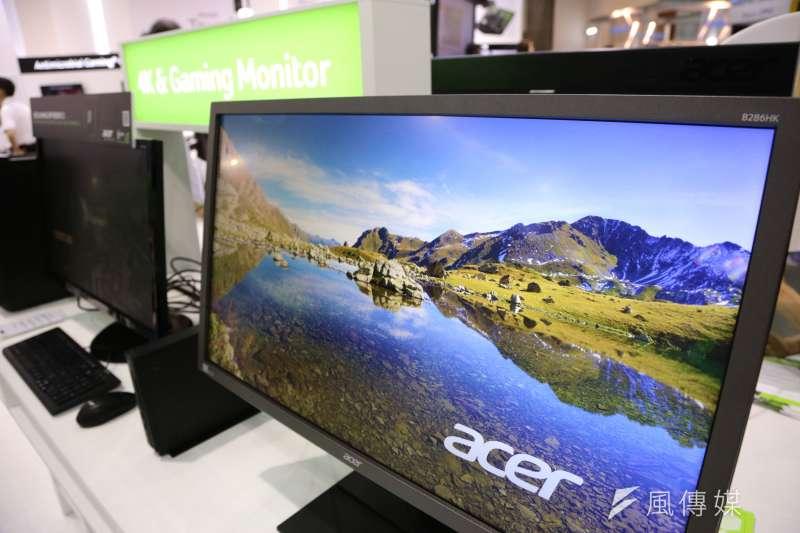 宏碁八月份LCD顯示器,除了在美國銷售大賣外,同時也在加拿大地區創下佳績,為北美LCD顯示器市場的創下雙贏的局面。(新新聞 資料照)