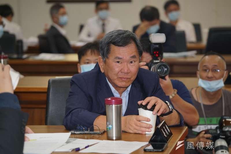 20201007-立委陳明文7日赴經濟委員會質詢。(盧逸峰攝)
