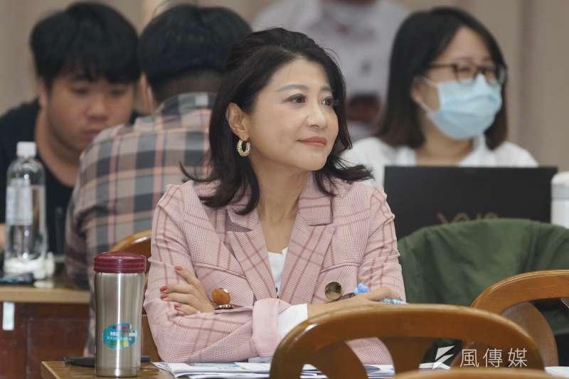 20201007-立委林楚茵7日於財政委員會質詢。(盧逸峰攝)