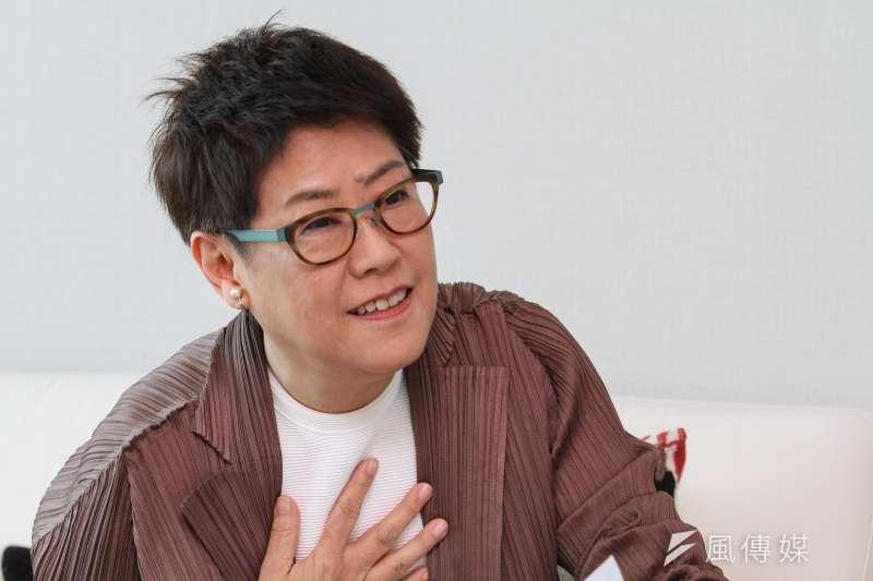 20201008-台北101總經理張振亞接受專訪。(蔡親傑攝)