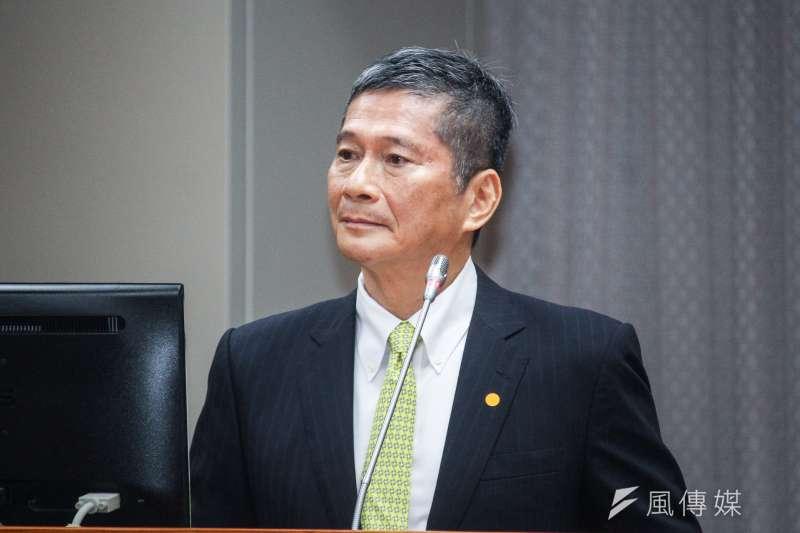文化部昨發布第7屆公視董監事新提名名單,部長李永得今(4)日說明,這份名單都是他親自去拜託的。(資料照,蔡親傑攝)