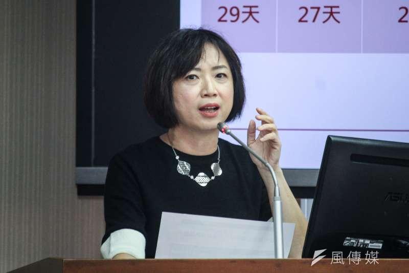 民進黨立委何欣純(見圖)日前提案,未來超時用公務車立委仍將公布。(資料照,蔡親傑攝)