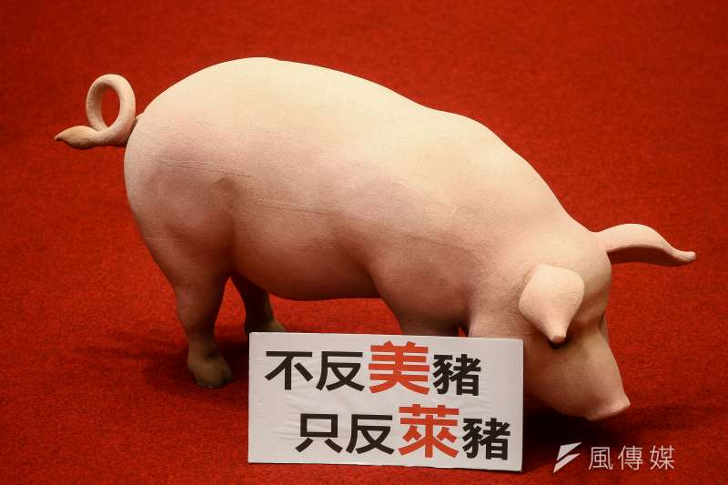 國民黨立委陳以信表示,在美國大選結束後,請總統蔡英文重新思考開放瘦肉精美豬進口的政策。(資料照,顏麟宇攝)