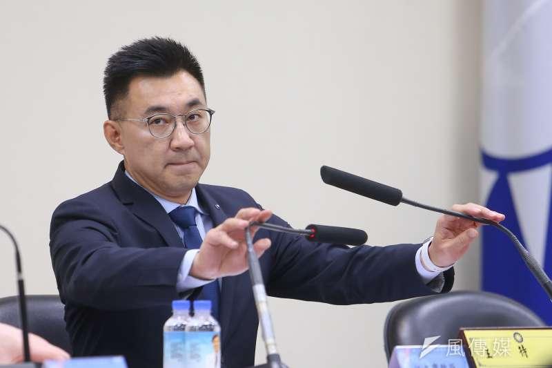 國民黨主席江啟臣(見圖)表示,年輕人對國民黨的好感度增加,他發覺大家都不是鐵板一塊,而且越年輕的人,通常越有彈性和空間。(資料照,顏麟宇攝)