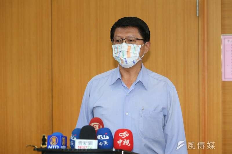 台南市議員謝龍介談(見圖)及2024總統大選時,認為桃園市長鄭文燦比副總統賴清德更有望在黨內出線。(資料照,顏麟宇攝)