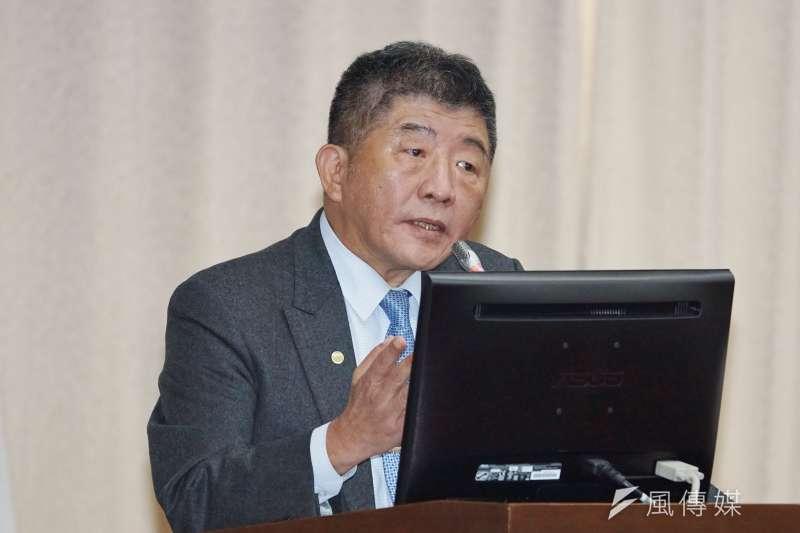 20201015-衛福部長陳時中15日於聯席委員會備詢。(盧逸峰攝)