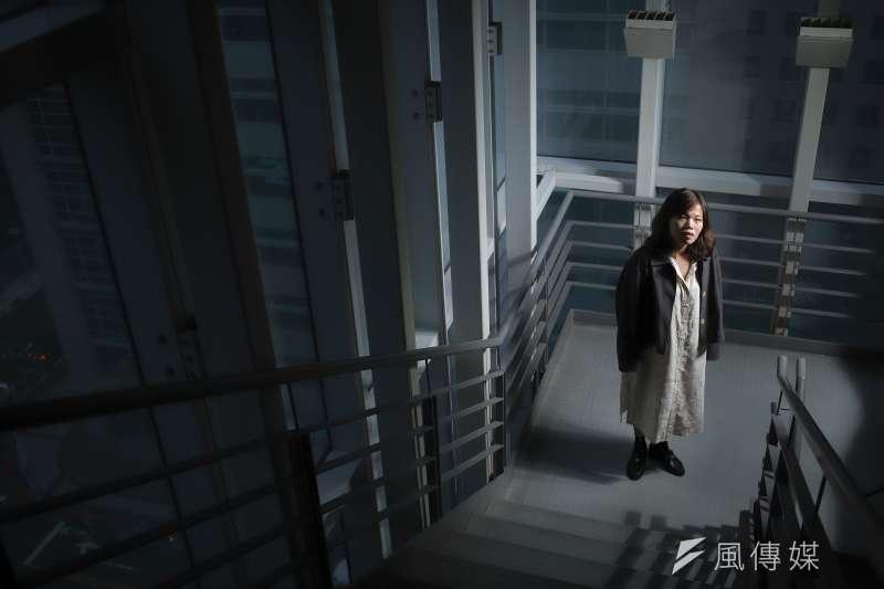 《無聲》於第57藉金馬獎獲8項入圍,導演柯貞年接受專訪表示,她想做的並非是台版《熔爐》。(陳品佑攝)