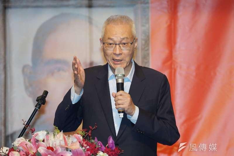 前主席吳敦義23日突在臉書宣布將於5月下旬出書,敏感時機引發外界注意。(資料照,盧逸峰攝)