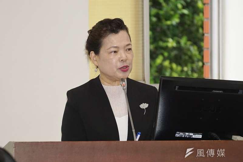經濟部長王美花21日出席「三三企業交流會」,指出美中貿易在才是這波全球供應鏈重組的關鍵因素。(資料照,盧逸峰攝)