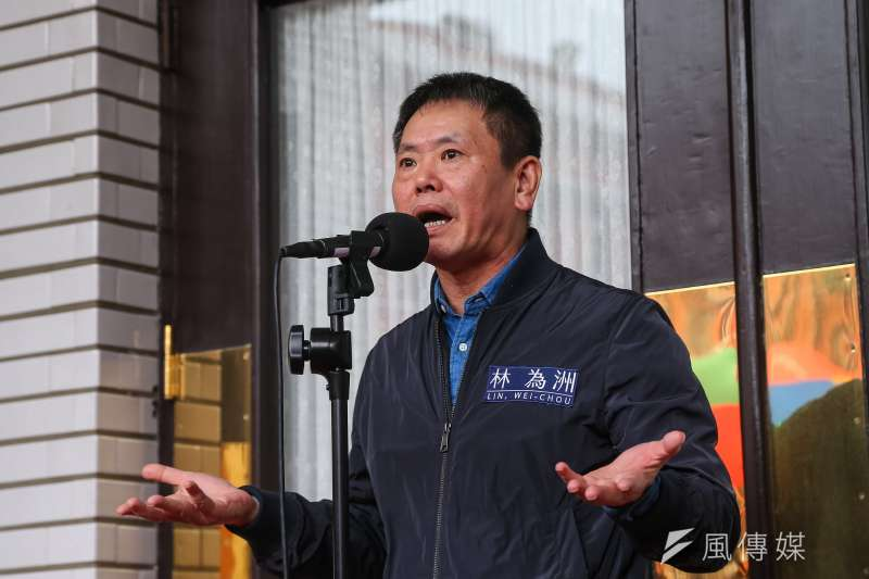 20201020-國民黨總召林為洲20日於立院接受媒體聯訪。(顏麟宇攝)