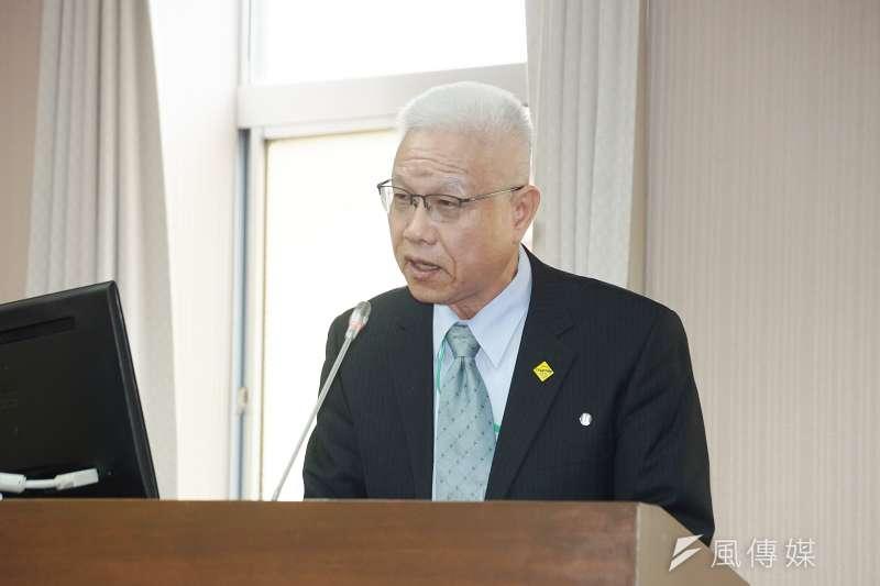 20201021-運安會諮詢委員葉名山21日於交通委員會備詢。(盧逸峰攝)