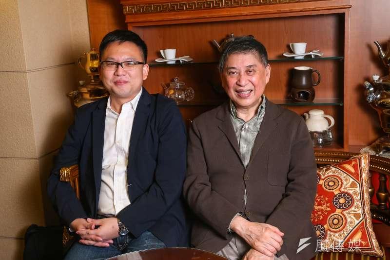 20201023-白先勇專訪,「悲歡離合四十年:白崇禧與蔣介石」共同作者廖彥博。(顏麟宇攝)