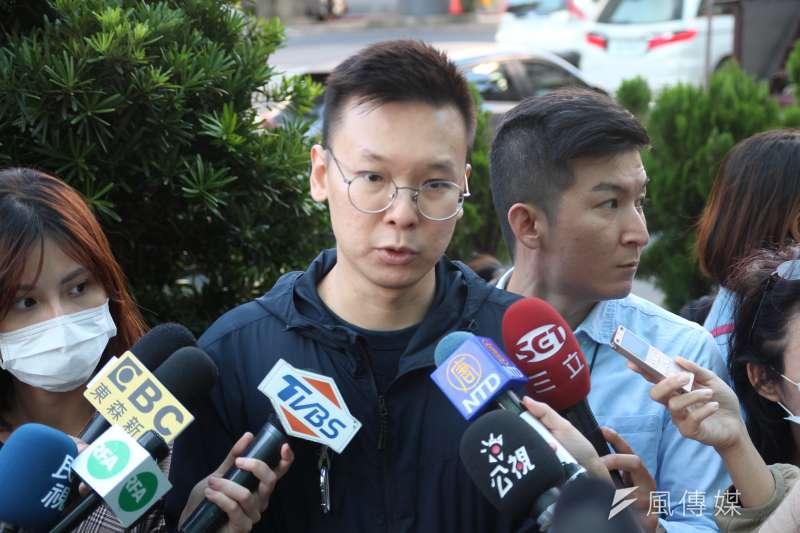 林飛帆對國民黨喊話,希望他們停止濫用罷免工具的行為。(資料照,黃信維攝)