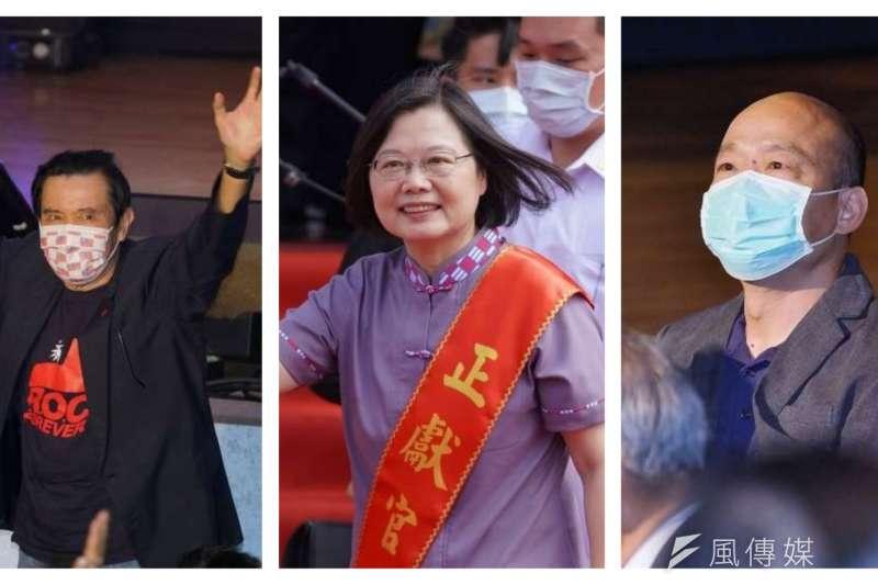 台灣民意基金會最新民調顯示,行政院長蘇貞昌是目前台灣民眾最討厭的政治人物。(盧逸峰攝/合成:風傳媒)