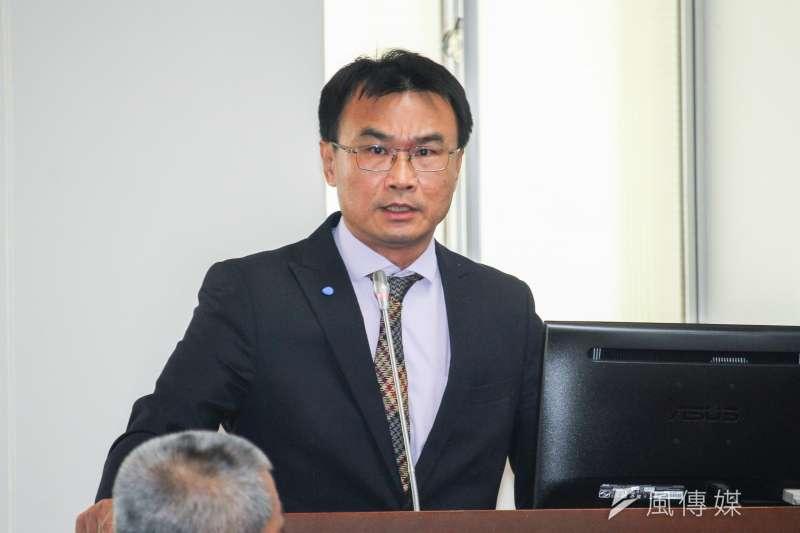 農委會主委陳吉仲(見圖)認為萊豬出現熱衰竭等副作用的影片是不實消息。(資料照,蔡親傑攝)
