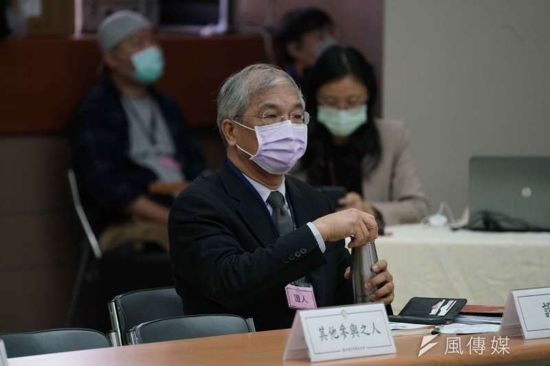 20201026-NCC於26日舉行中天新聞台換照聽證會,世新大學副校長陳清河以證人身分出席。(盧逸峰攝)