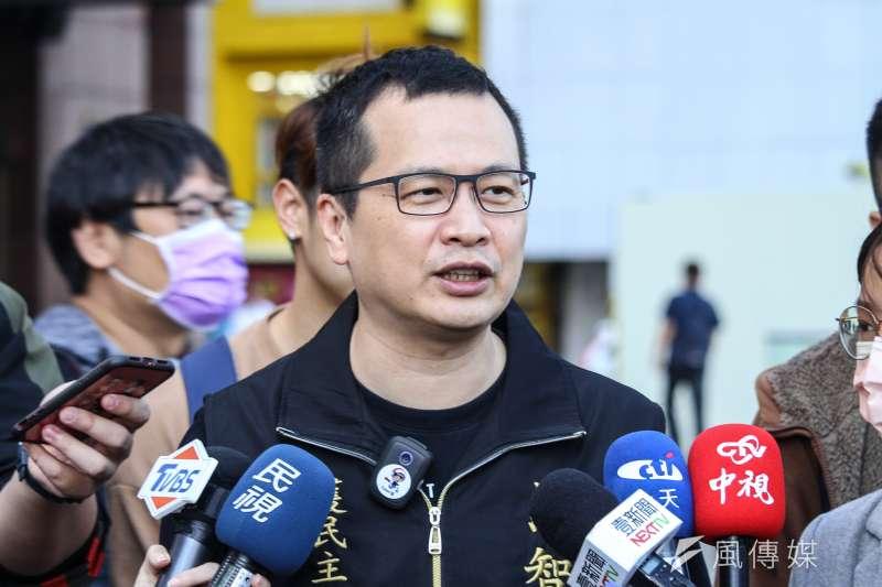 北市議員羅智強(見圖)提出罷免護航萊豬的綠委吳思瑤。(資料照,蔡親傑攝)
