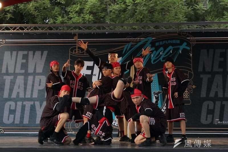 NC Breakerz 舞團精湛演出,獲得台下一片迴響。(圖/風傳媒提供)