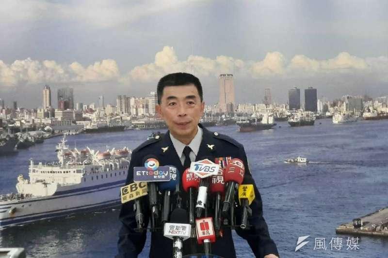 高雄市警察局長劉柏良。(圖/徐炳文攝)