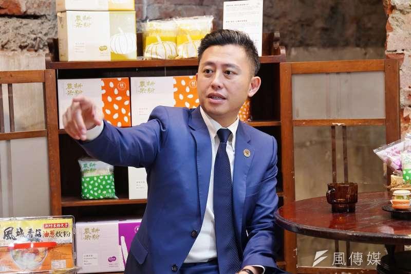 20200929-新竹市長林智堅29日接受《新新聞》專訪。(盧逸峰攝)