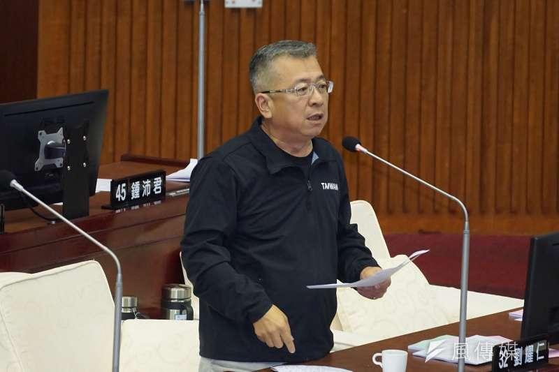 台北市議員劉耀仁。(資料照,盧逸峰攝)