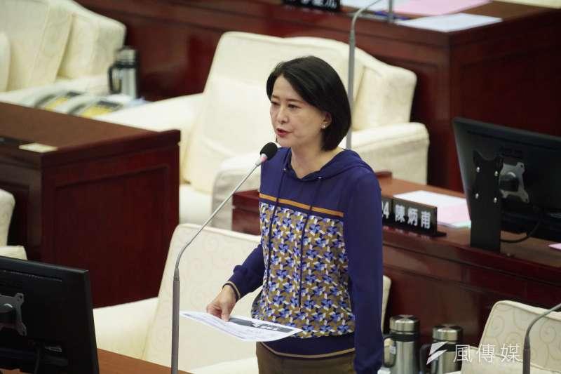 台北市議員王鴻薇10日指出,警局並未接獲AIT遭機器人帳號攻擊的報案。(資料照,盧逸峰攝)