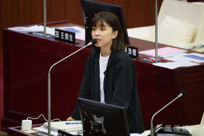 台北市議員林穎孟(見圖)被指苛刻對待助理,要求女助理在請生理假時要附憑證,還涉及詐領助理費。(資料照,盧逸峰攝)