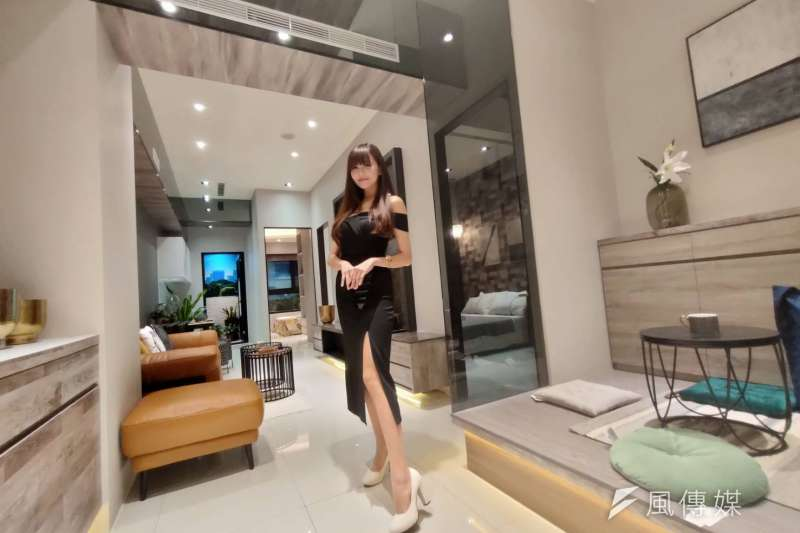三富建設與歐美知名家居品牌聯名合作,精心規劃設計展,讓消費者以親民價買到高端設計,實現輕時尚家居的夢想。(圖/徐炳文攝)