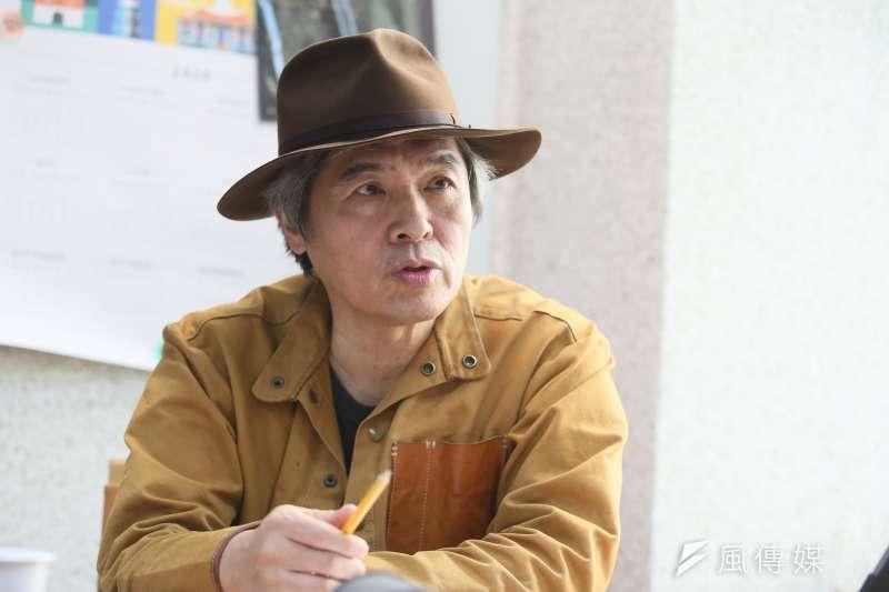 北藝中心總監王孟超要讓北藝中心成為國內「藝術家的創意基地」。(柯承惠攝)