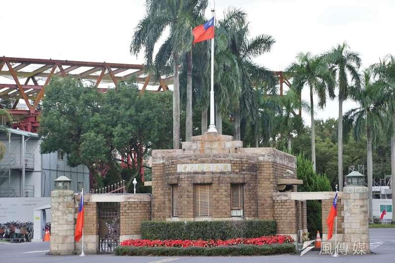 20201103-國立台灣大學外觀一景。(盧逸峰攝)